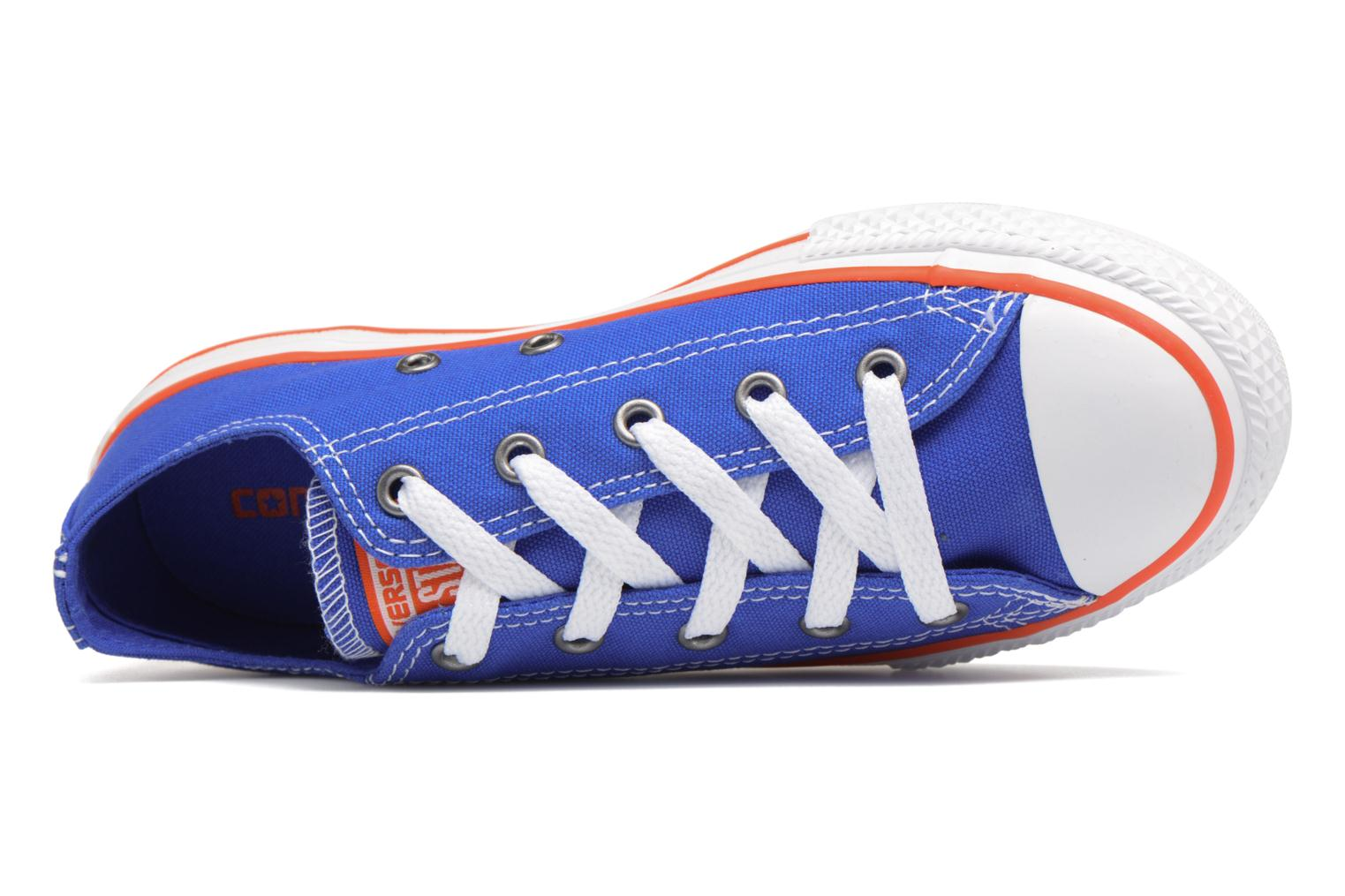 Sneakers Converse Chuck Taylor All Star Ox Seasonal Color Azzurro immagine sinistra